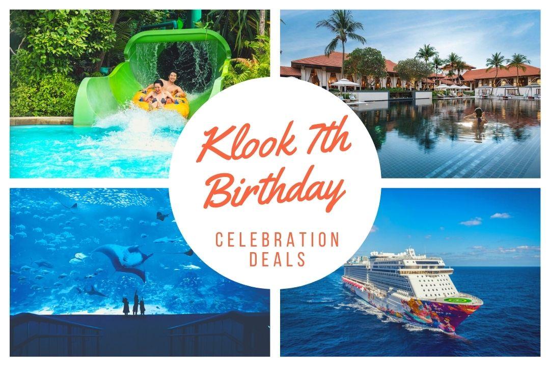 Klook 7th Birthday Celebration Deals