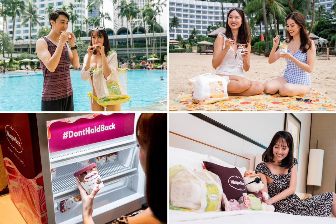 Haagen-Dazs Staycation at Shangri-La Singapore and Shangri-La Rasa Sentosa