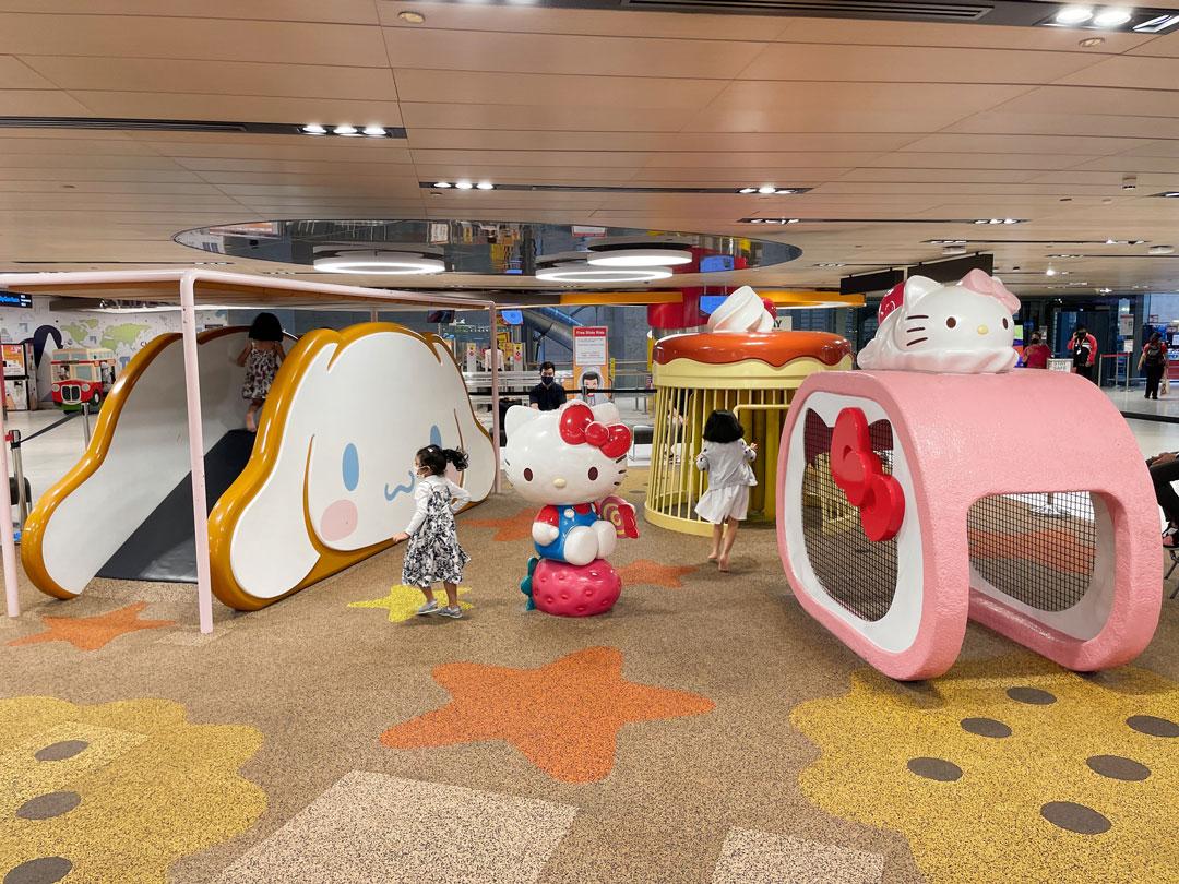 Sanrio Themed Playground Changi Airport
