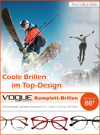 vogue Komplett-Brille