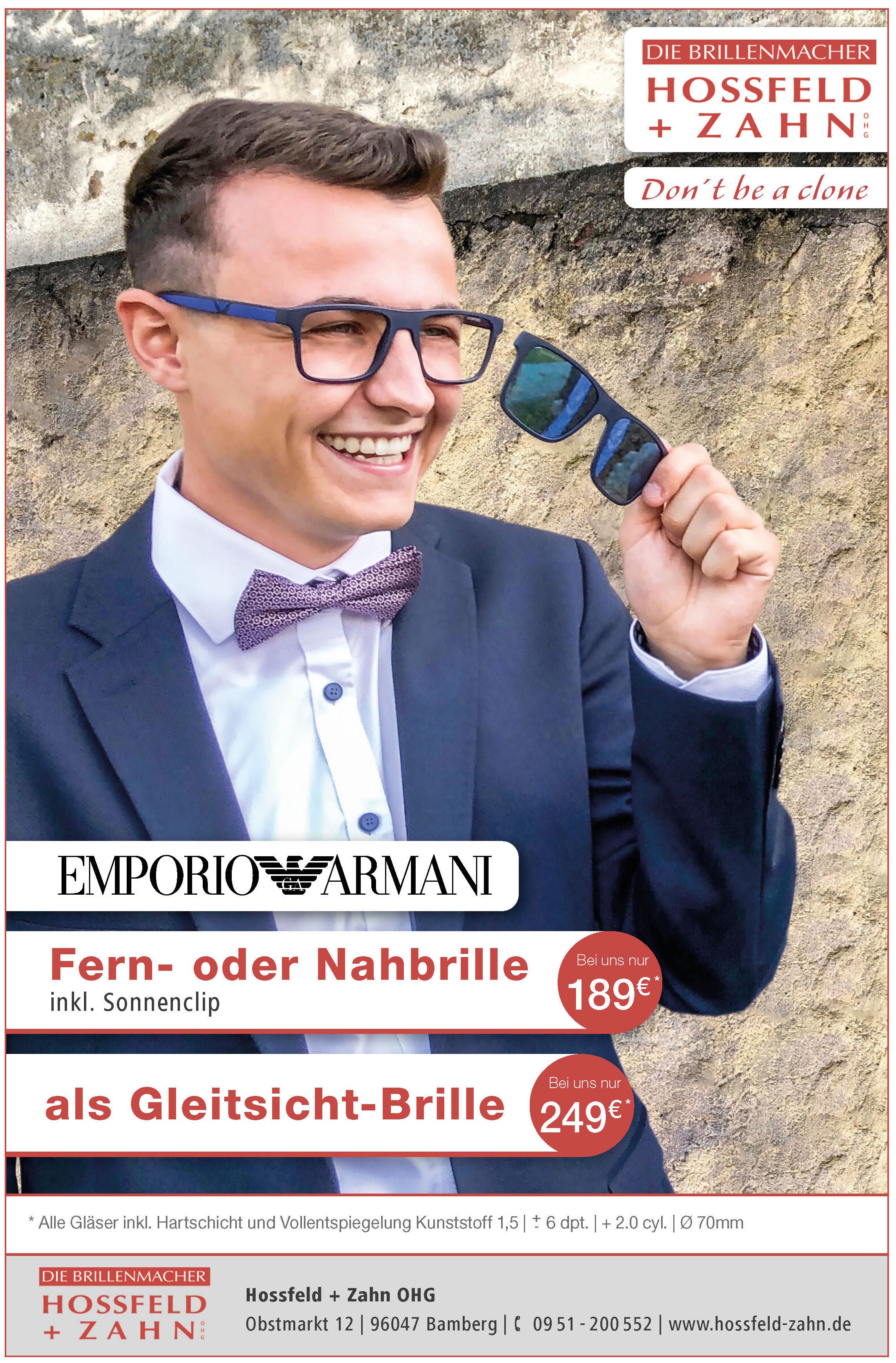 Emporio Armani |Fern- oder Nahbrille