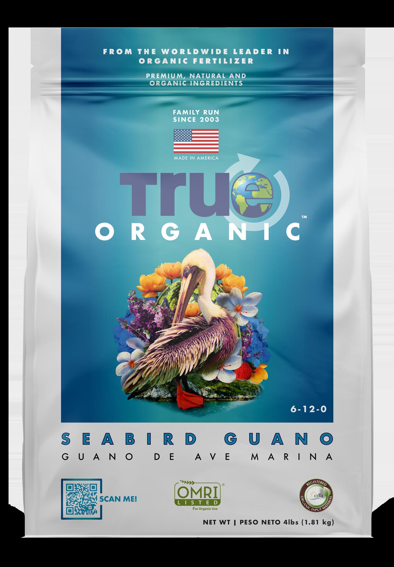Bag Of True Organic Seabird Guano