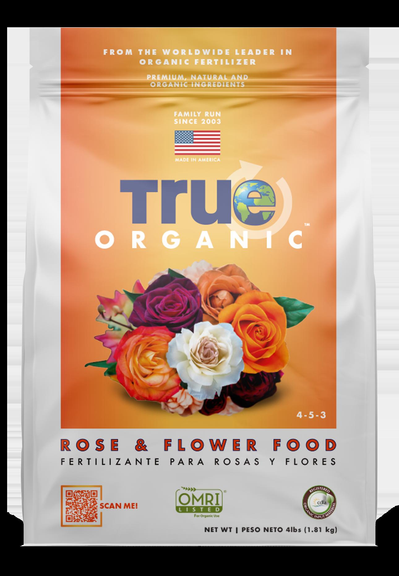 Bag Of True Organic Rose & Flower Food