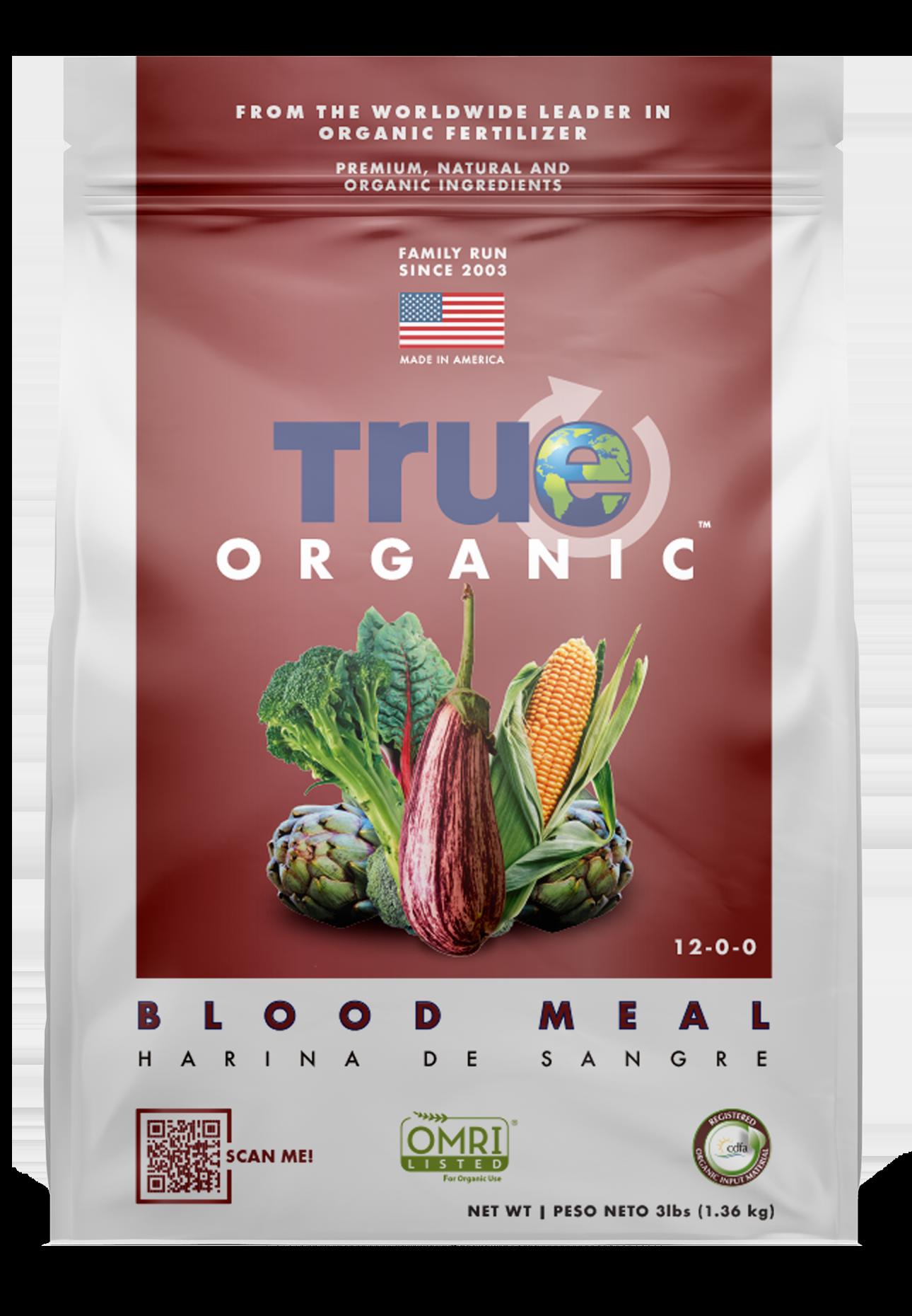 Bag Of True Organic Blood Meal