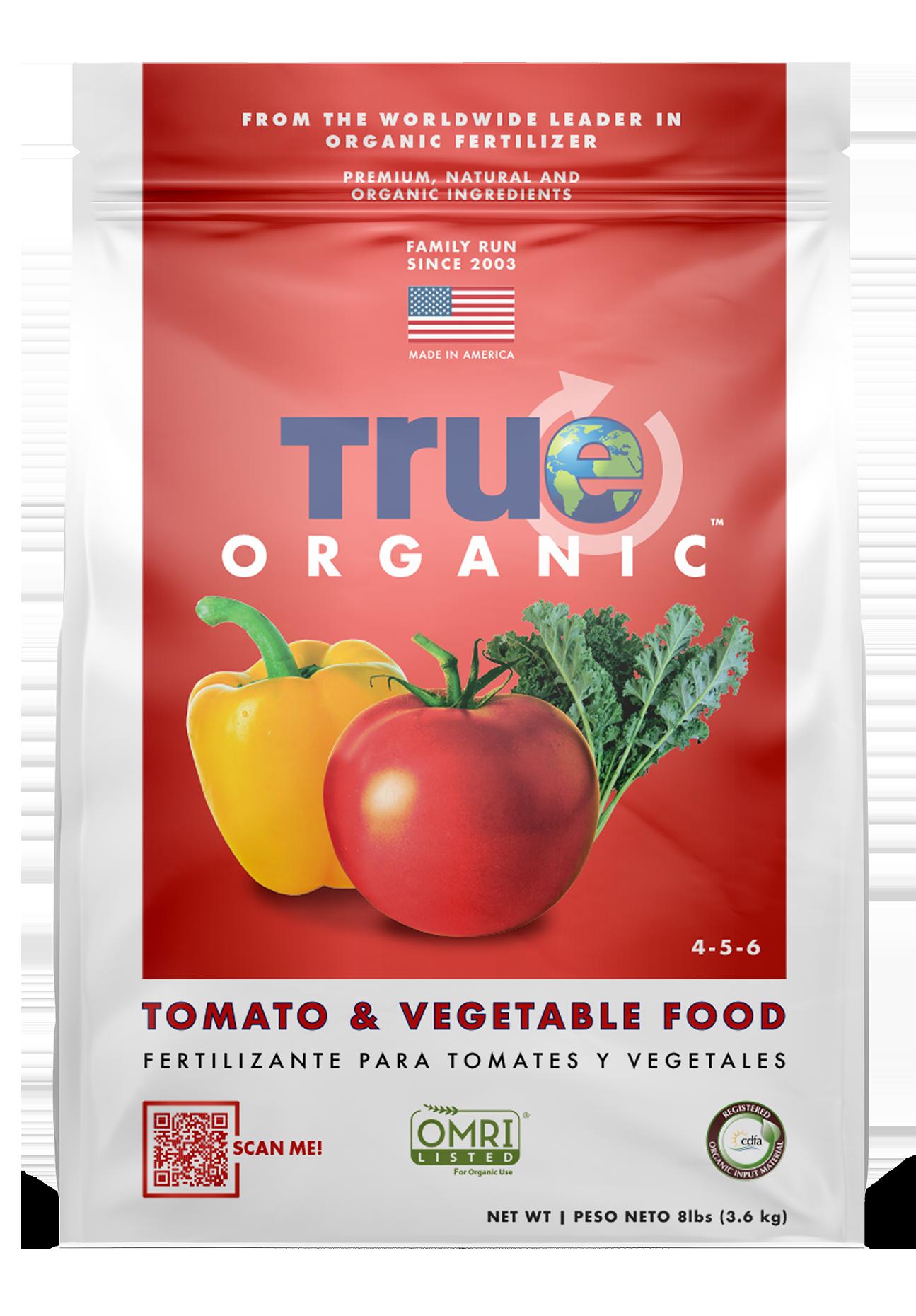 Bag Of True Organic Tomato & Vegetable Food