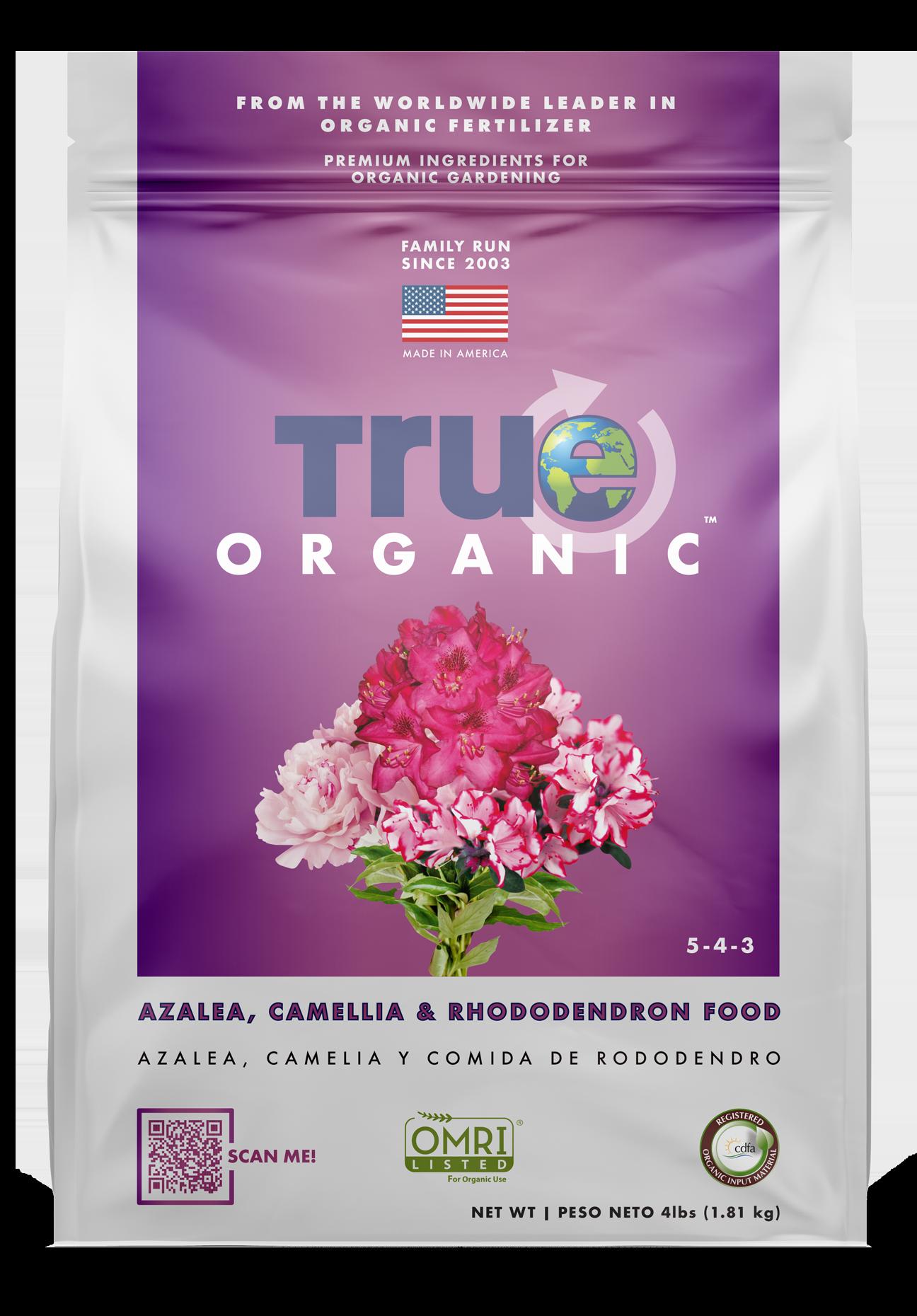 Bag Of True Organic Azalea Camellia & Rhododendron Food