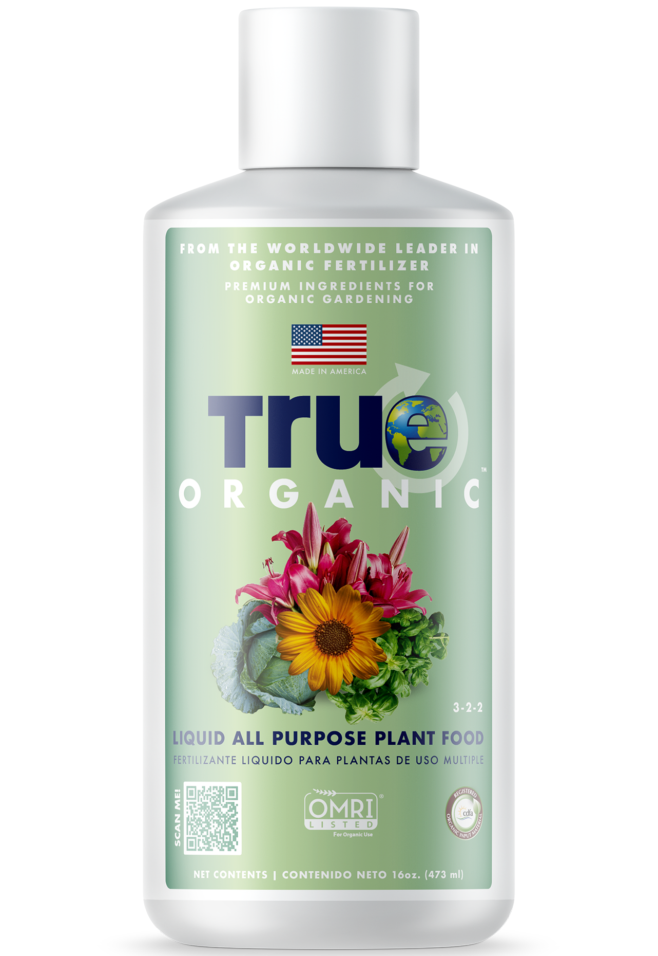 Bottle Of True Organic Liquid All Purpose Plant Food