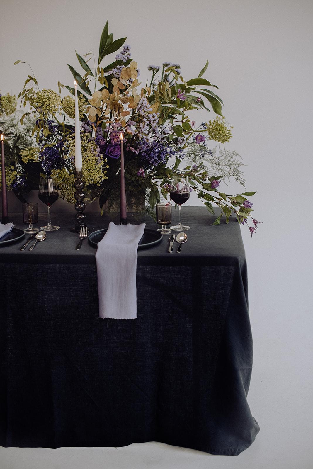 Contemporary Floral Installations Edinburgh