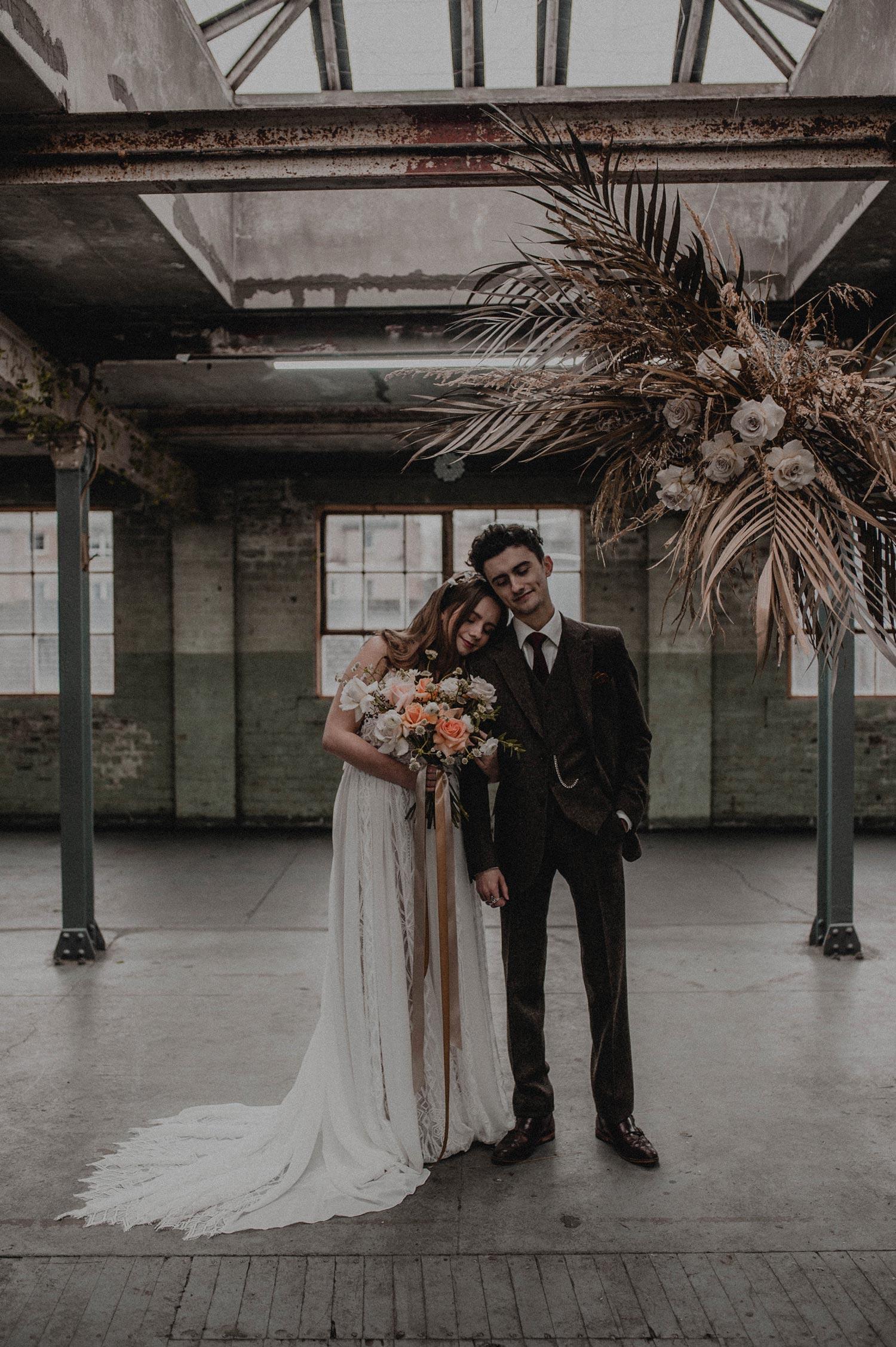 Brand Flowers | Edinburgh | Styled Shoot | Floral Design | Boho Wedding | Wedding Flowers