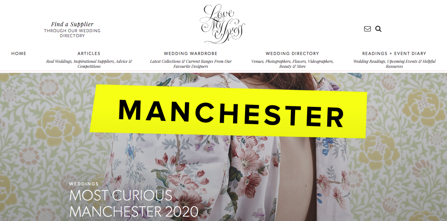 Love My Dress- Manchester Most Curious