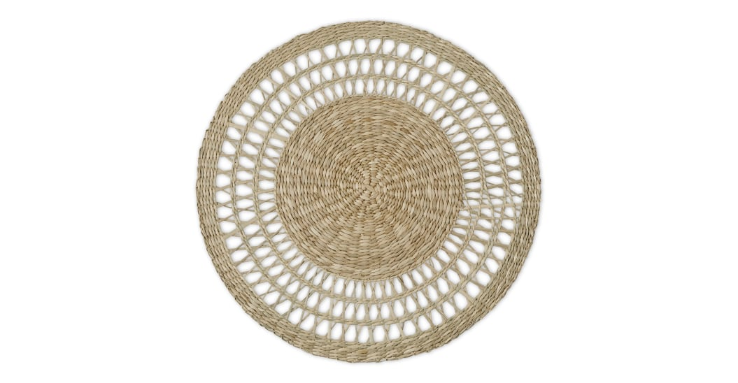 Table styling blog Lifestyle woven placemats