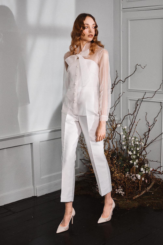 Henson trousers/Parry blouse/Oliver Corset