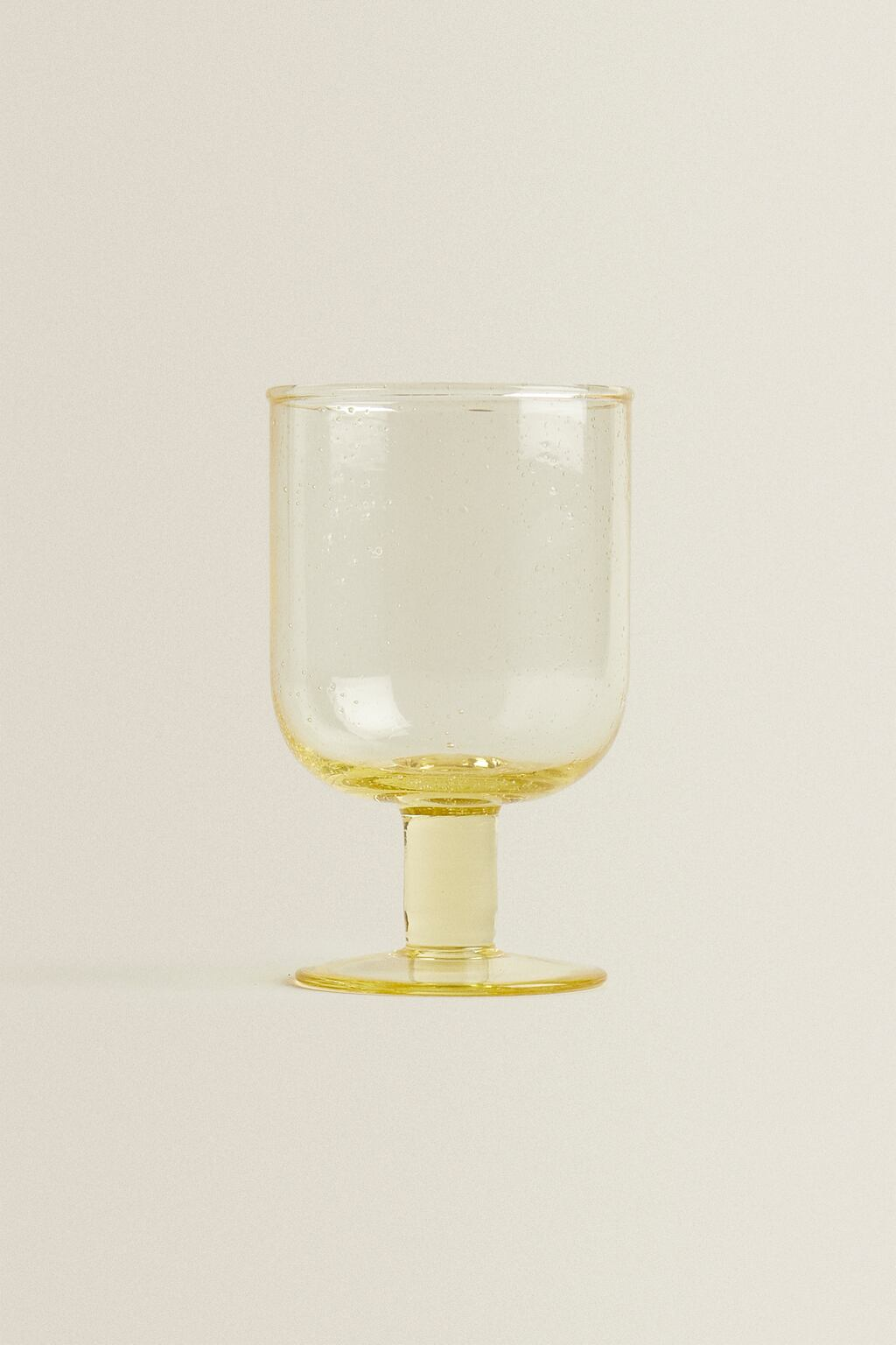 BUBBLES WINE GLASS from Zara