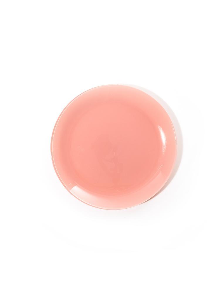 Blush pink plates