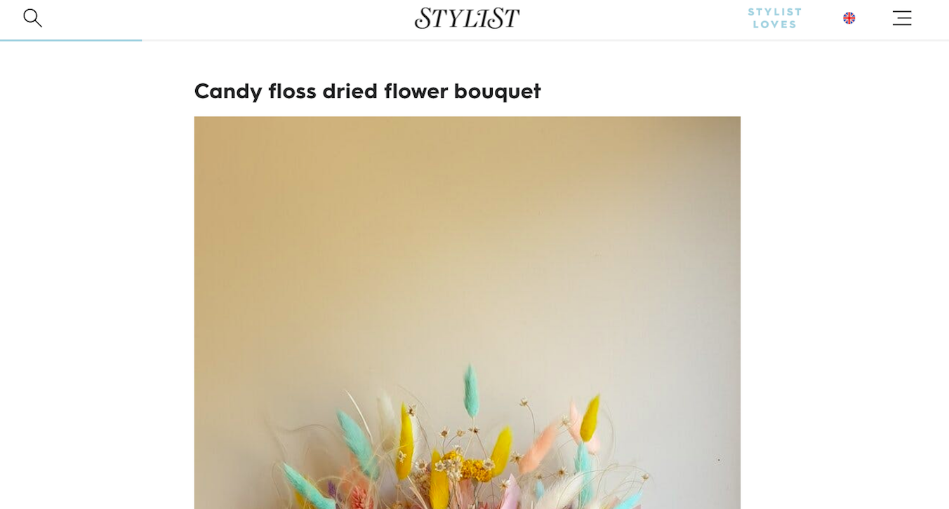 Stylist: Interior Design Trend - Dried Flowers to Buy