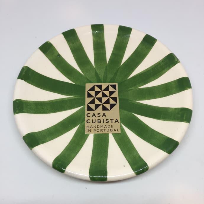 Casa Cubista Mini ceramic plate