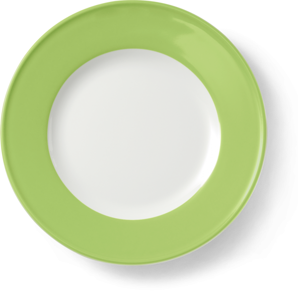 Dessert Plate Spring Green (19cm)
