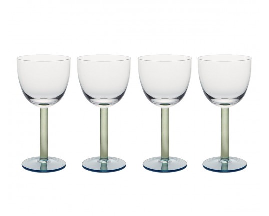 Glassware for a summer table