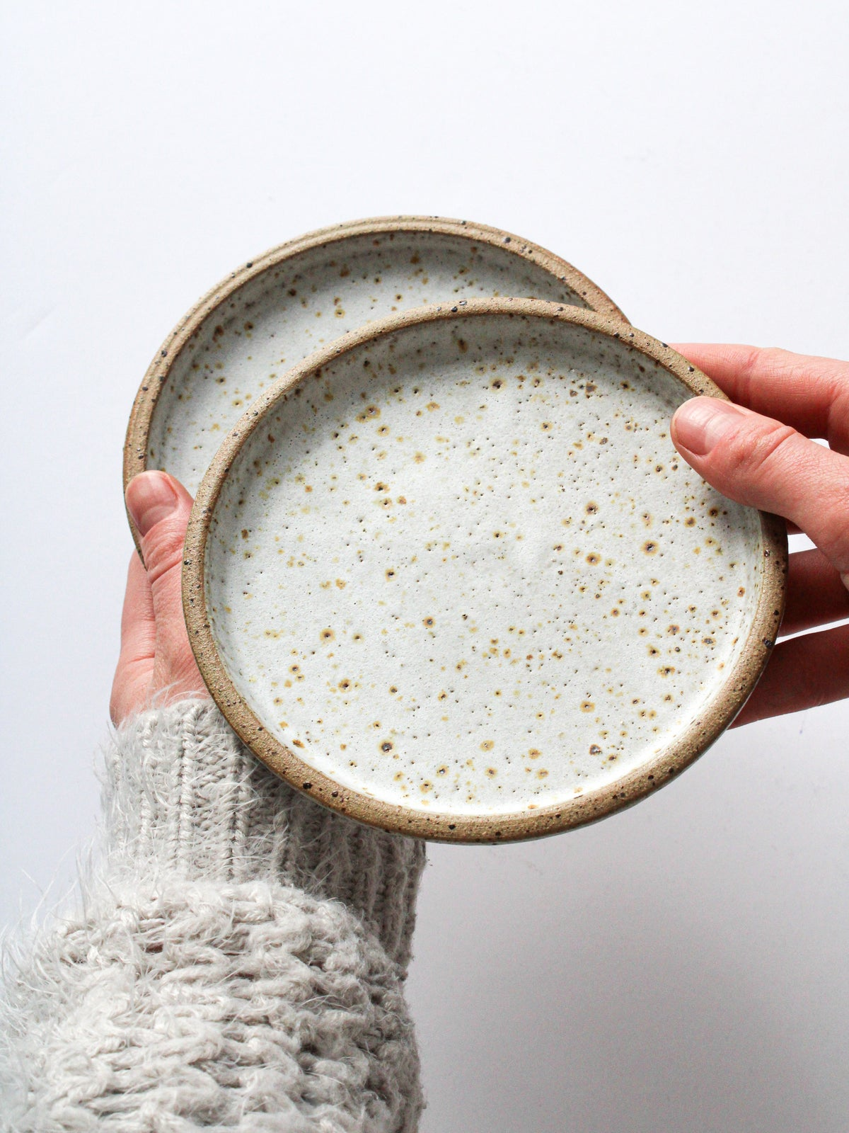 AKU ceramics stoneware plate