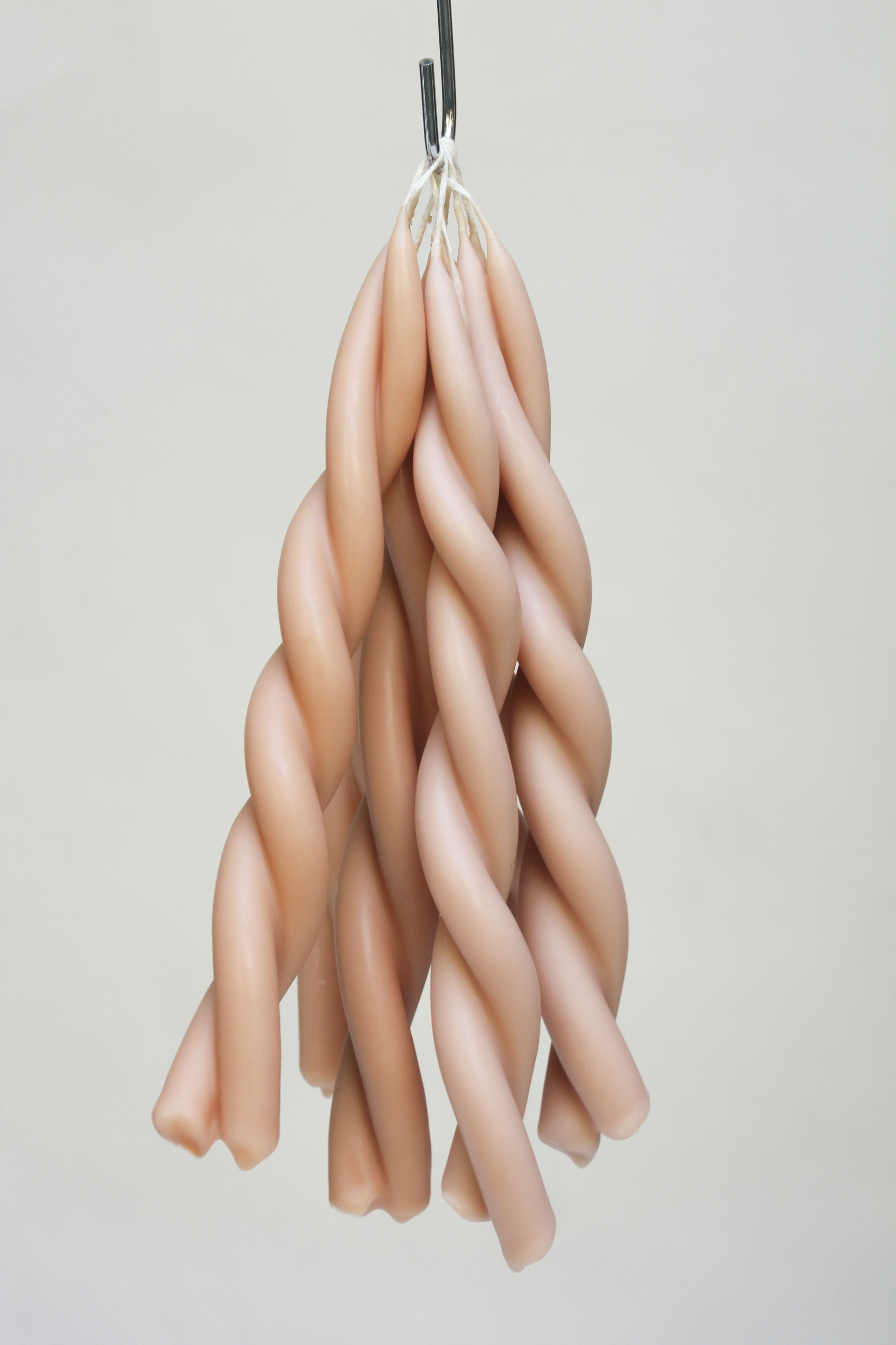 Twisted Candle - Pink Blossom - Wax Atelier