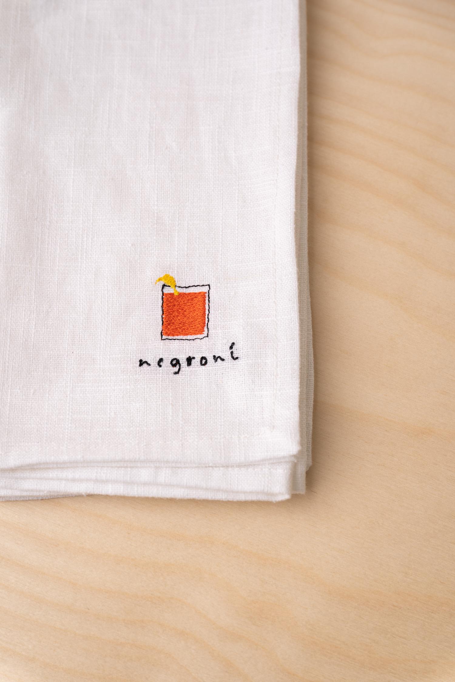 Cocktail Napkins - 100% Linen - Made in Edinburgh