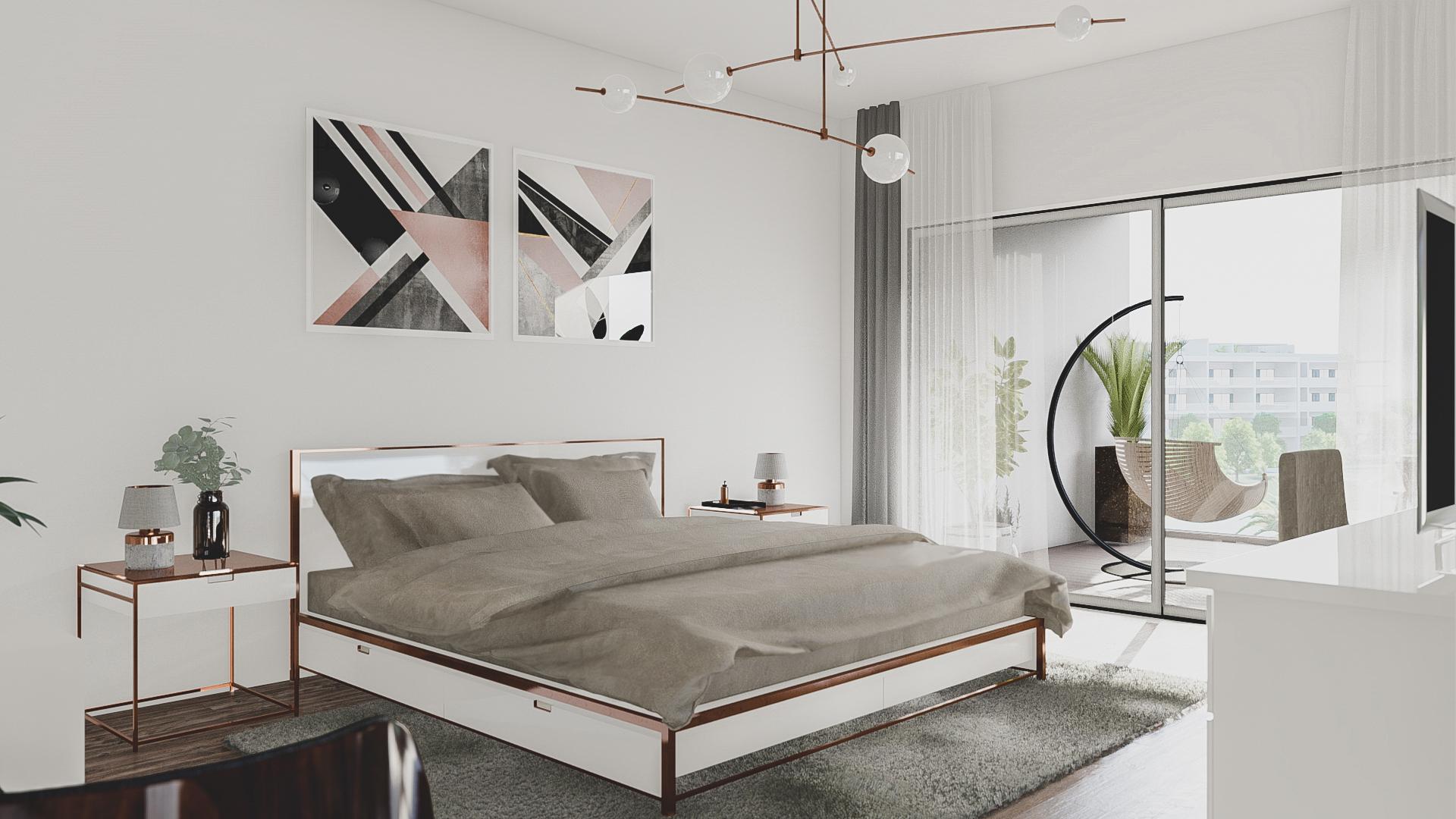 Master Bedroom Suite (T4 Four Bedroom)