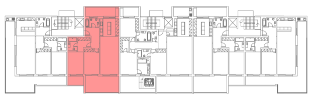 Location of Unit in Building Plan