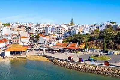 Cidade costeira de Portugal