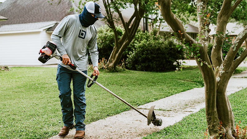 Two locals create app to get lawn care service at the click of a button