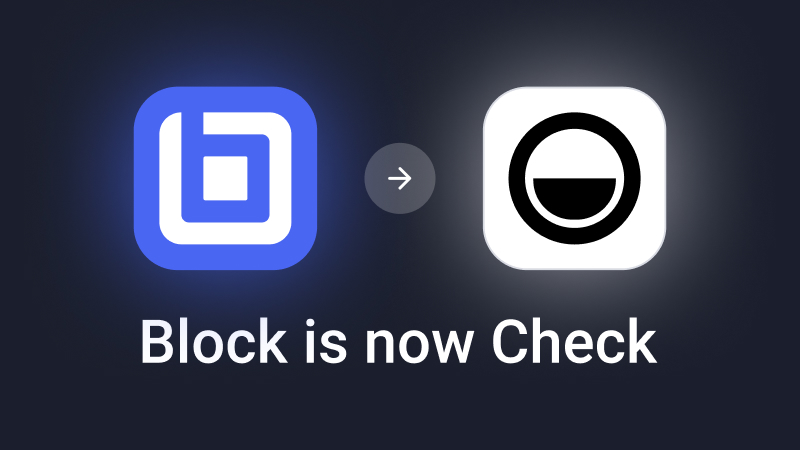 Block is now Check!