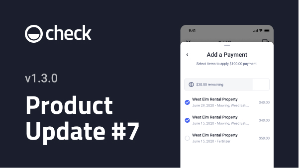 Revamped workflows for adding charges and payments