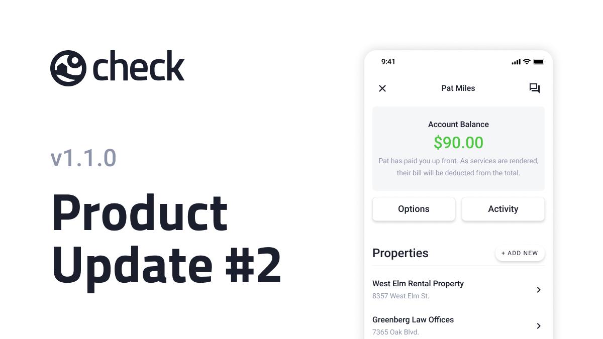 Add multiple properties per client.