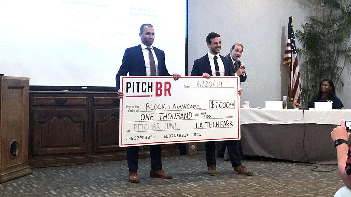 Lawn service app wins Pitch BR