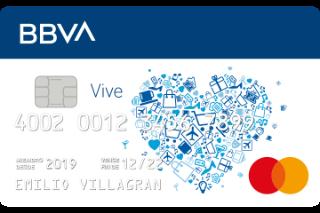 tarjeta vive BBVA - ofertas Rocket