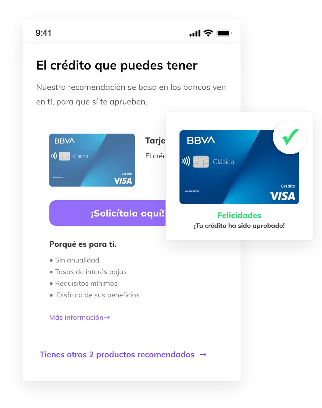 Ofertas de créditos