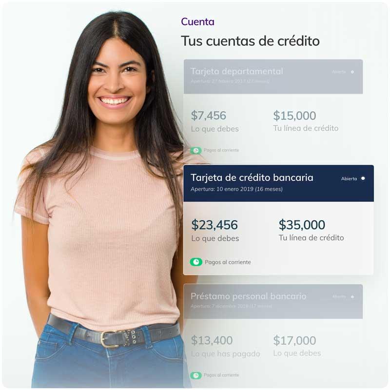 Toma el control de tus créditos