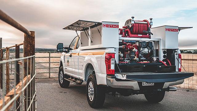 QTAC Fire Truck Skids