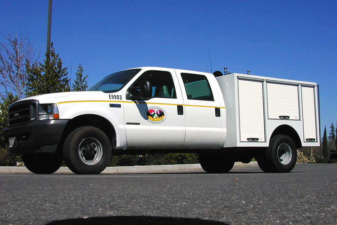 QTAC Fire Type 6 Wildland Fire Truck