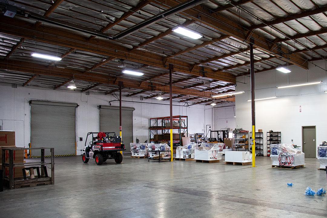 QTAC Fire Chico California Warehouse