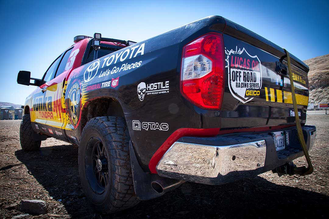 Lucas Oil Off Road Racing Series QTAC Fire Fire Suppression Equipment
