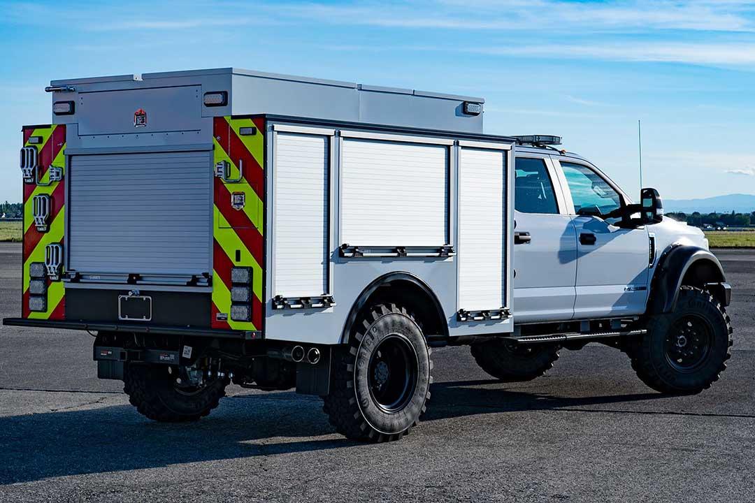 QTAC Fire Type 3 Trucks - Firestorm Wildland Fire Suppression