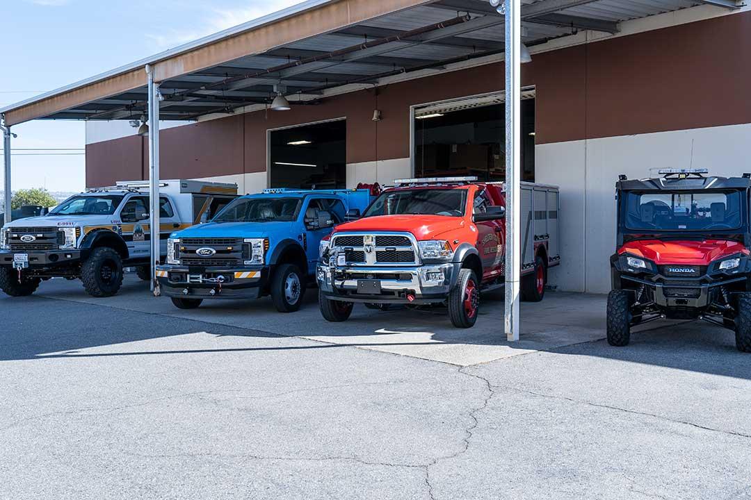 QTAC Fire Full Product Line - Trucks, Skids, UTV/ATV Skids