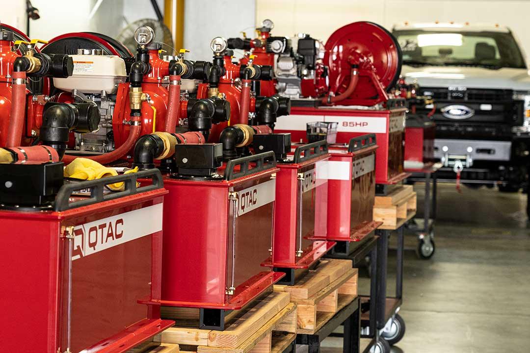 QTAC Fire UTV/ATV Warehouse