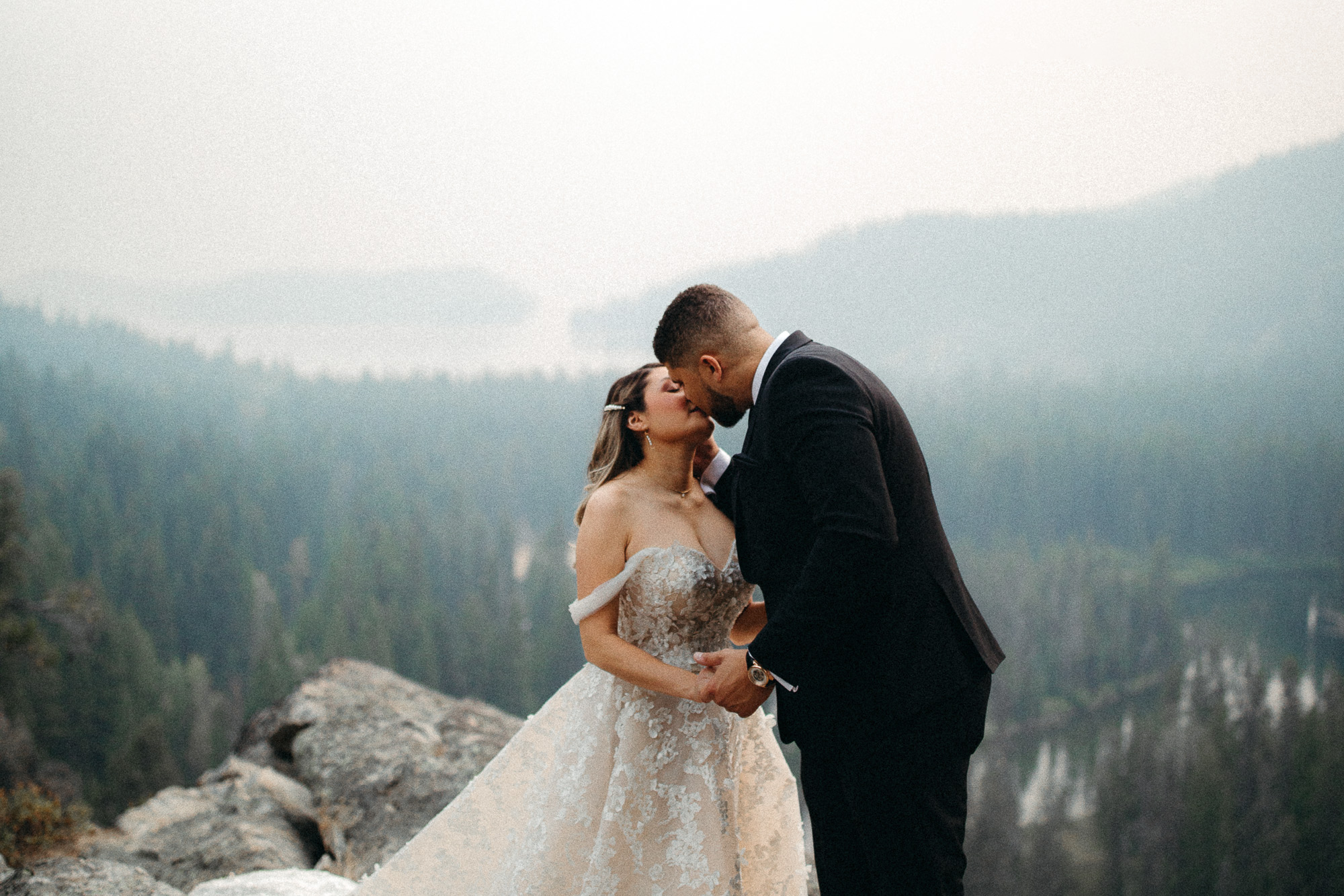 This is the best time to get eloped in Idaho. All you need is an elopement photographer and cinematographer and you're all set. We'll bring the champagne.