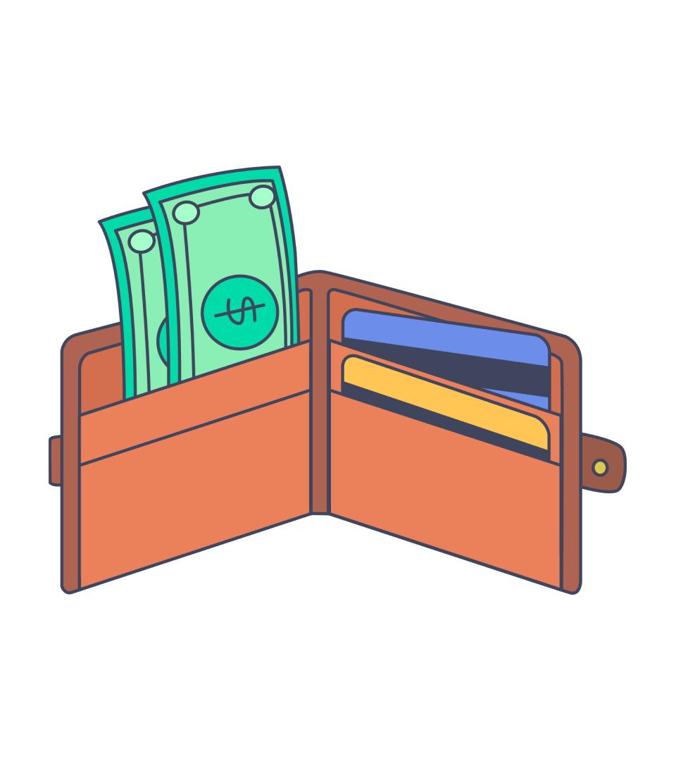 wallet - payment methods
