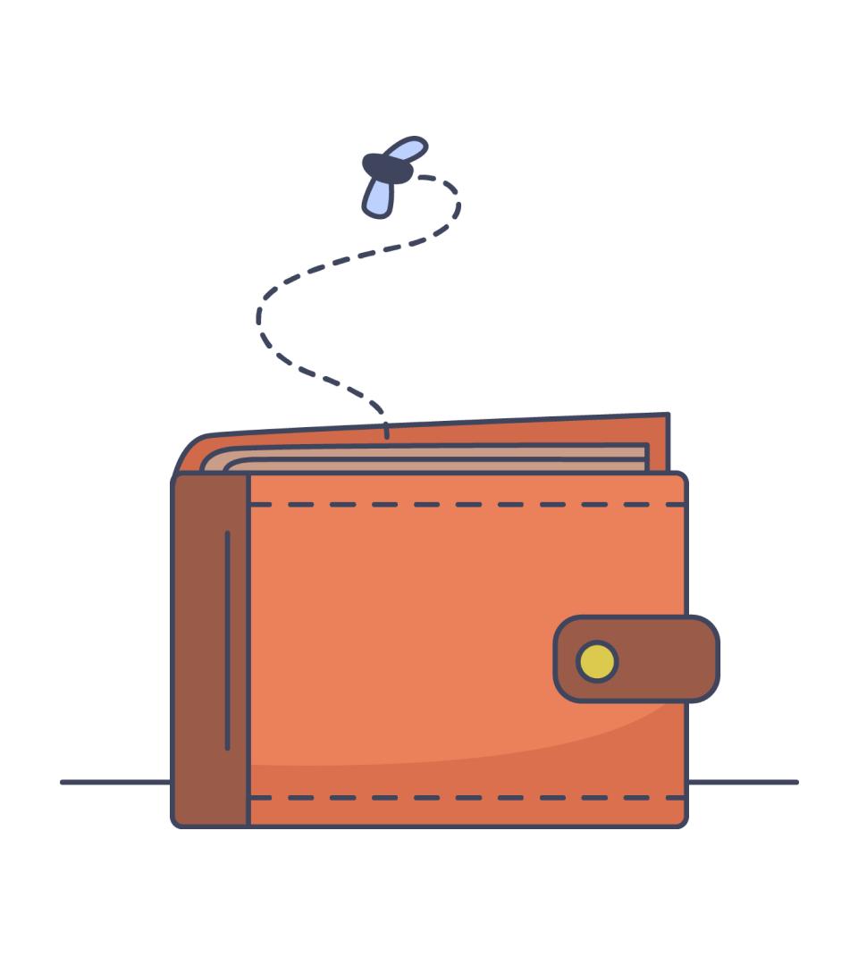 Wallet - oops no credits!