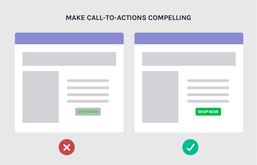 Increase conversions by making your CTAs compelling