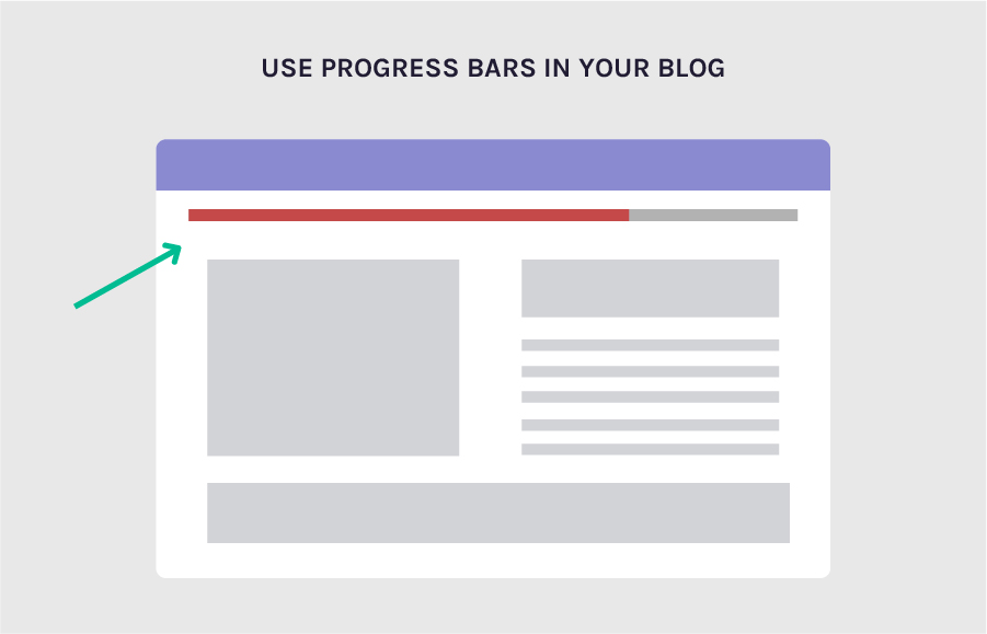 Use progress bars on your blog to increase conversion rates