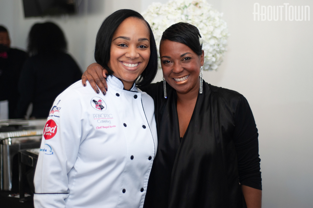 Chef Raquel Ervin, Caprenia Anthony