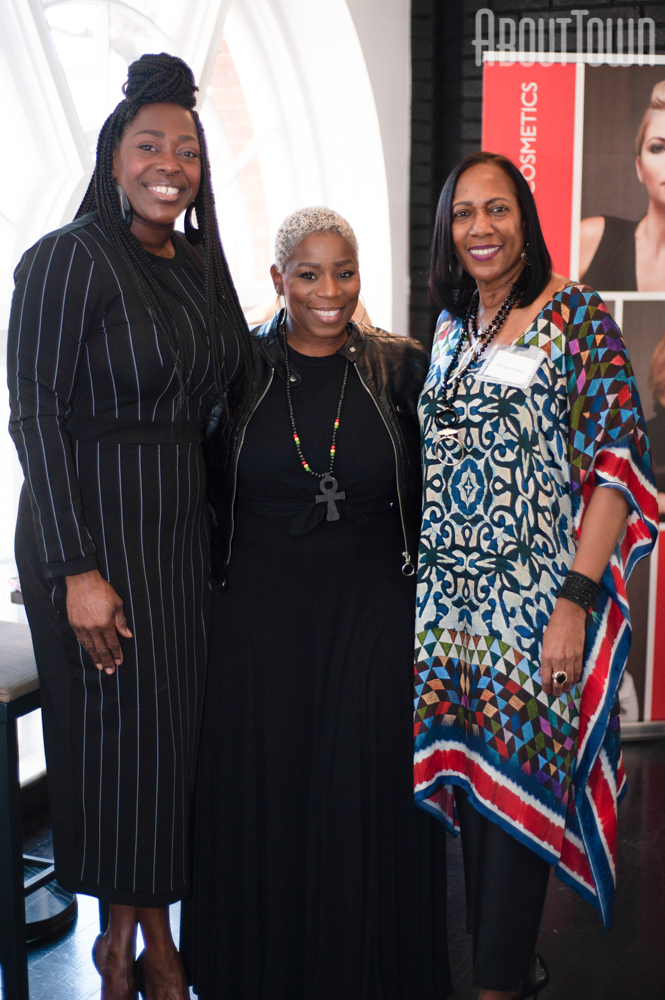 Valencia Johnson, Kim Colvin, Judge Agnes Chappell